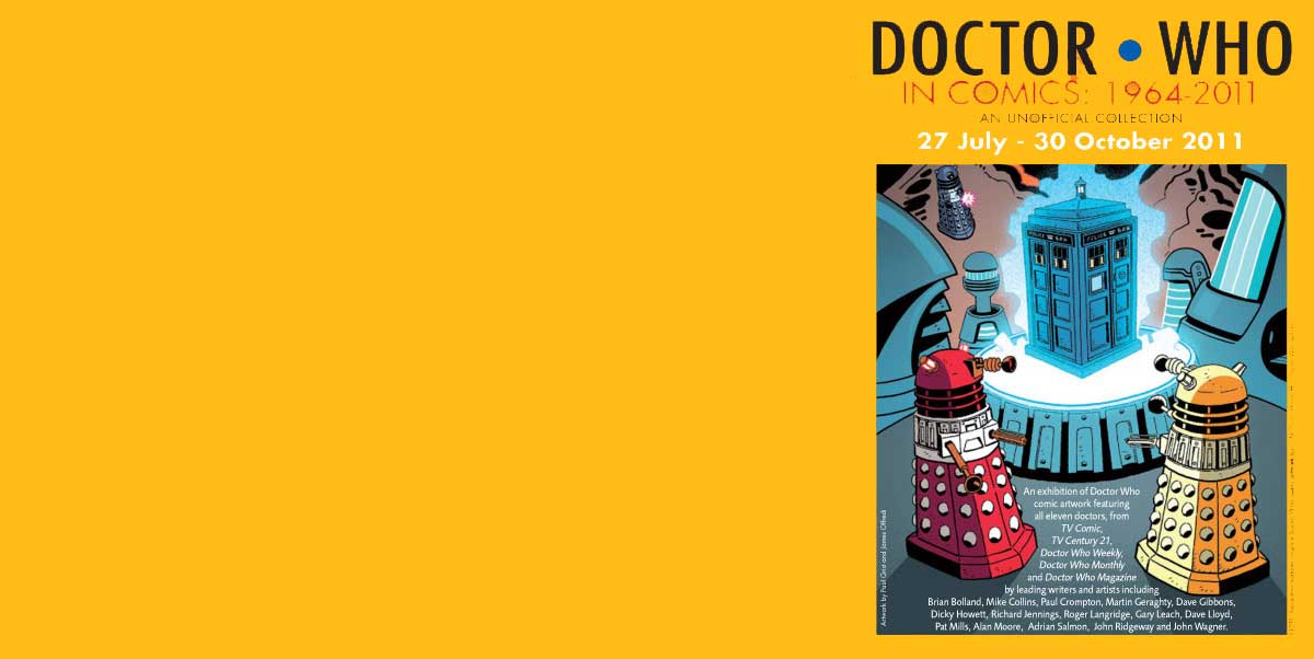 Doctor Who and Comics at The Cartoon Museum