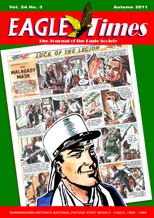 Eagle Times Volume 24 Number Three - Cover