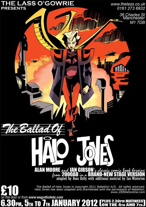 Ballad of Halo Jones Stage Play Poster - 2012