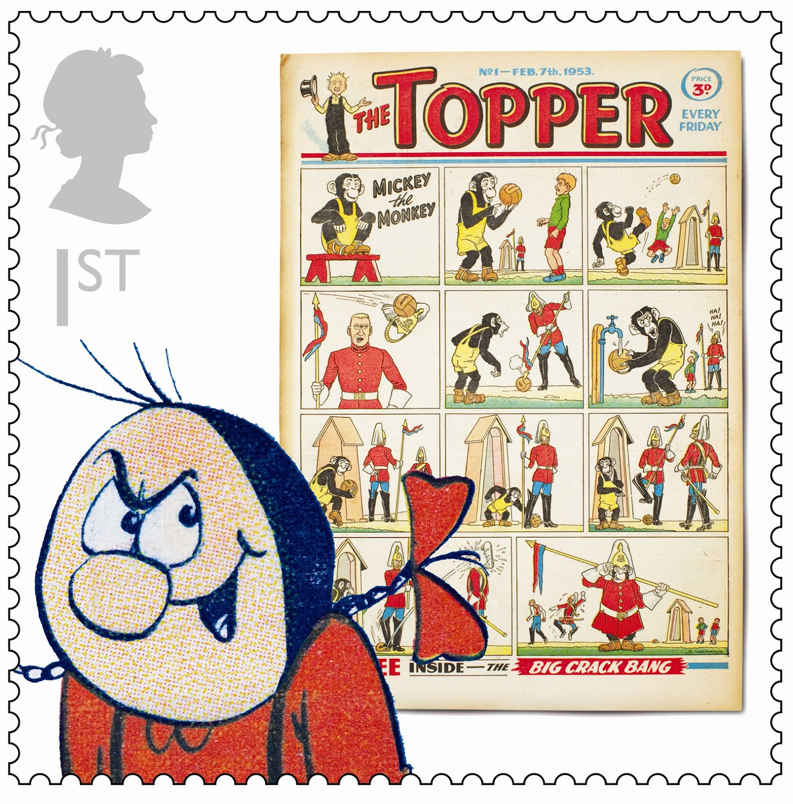 Royal Mail Comic Collection 2012 - Topper