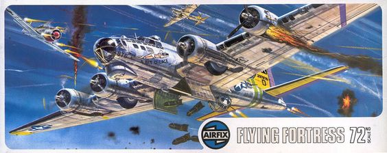 Boeing B-17 Fortress Airfix Box Art