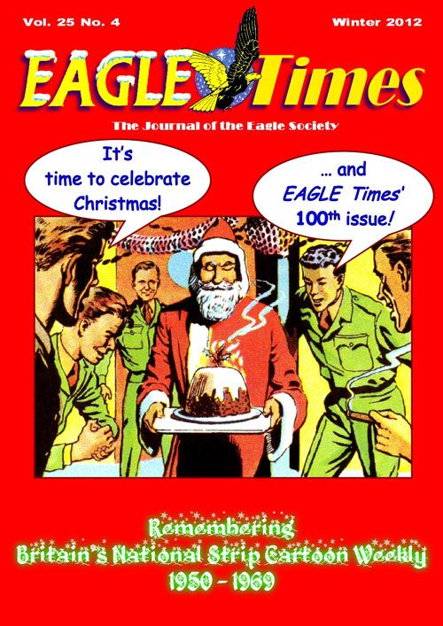 Eagle Times Volume 25 Number Four - Cover