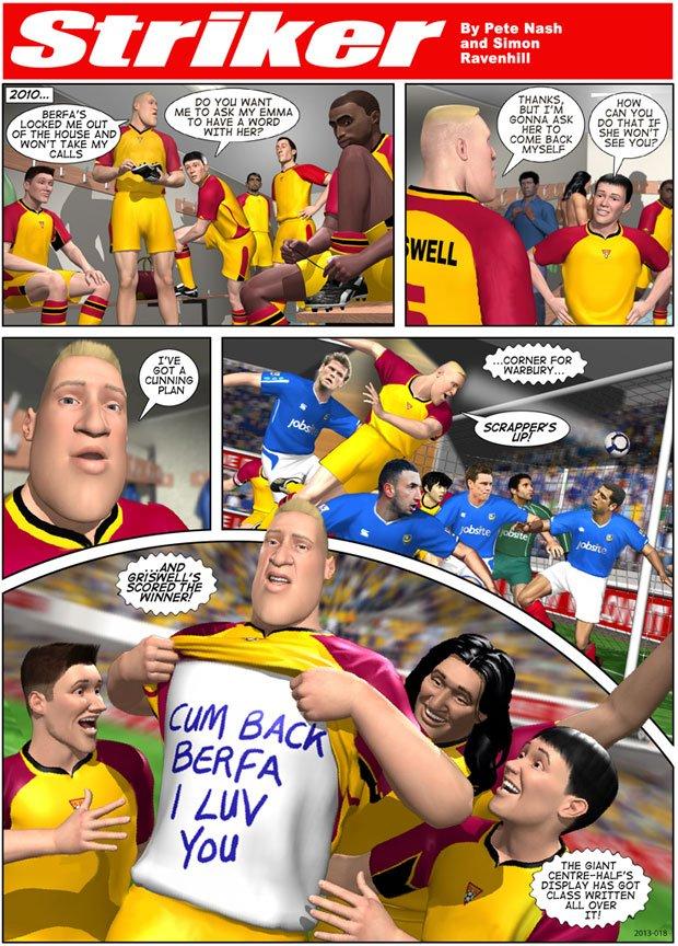 Striker Episode 18 - 2013