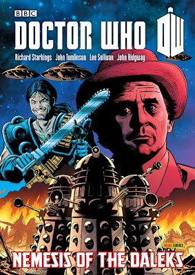 Nemesis of the Daleks - TPB Advance Cover