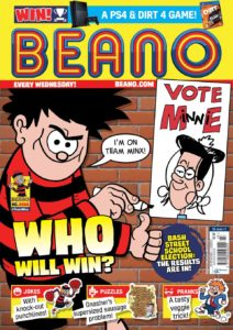 Still doing well on the news stand - The Beano - even if it is still badly-promoted on the official web site. © DC Thomson