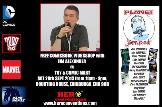 Edinburgh Toy and Comic Mart September 2013