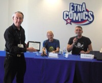 Congratulations to Bryan Talbot, who won the Francisco Solano Lopez Award for Best Writer / Artist at the Etna Comics Festival last weekend in Italy. Named after the late Argentinian...