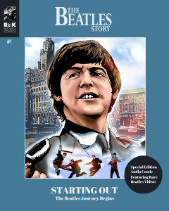 The Beatles Story #1 audio comic by Angus Allan and Arthur Ranson