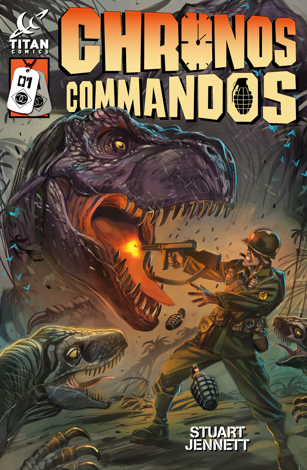 Chronos Commandos Issue 1