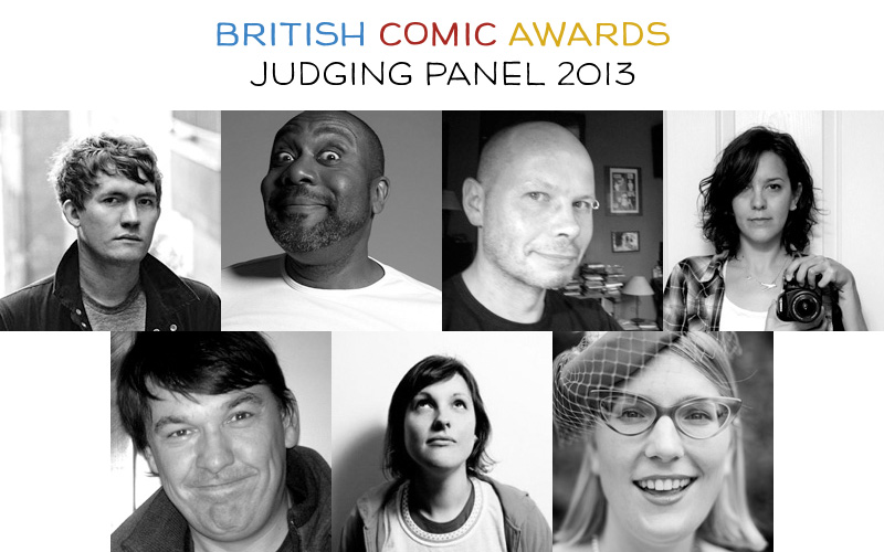 British Comic Awards Judges 2013