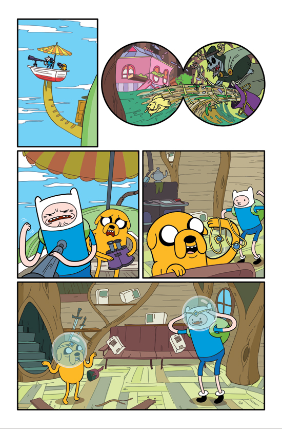 Adventure Time art by Braden Lamb