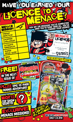Dennis the Menace and Gnasher Magazine