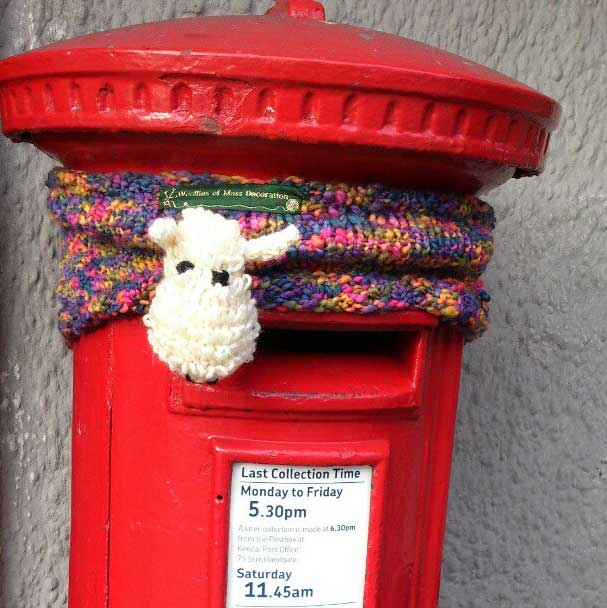 Knitting fun in Kendal in 2012... Photo: http://instagram.com/p/Qw9J1rRZk8/