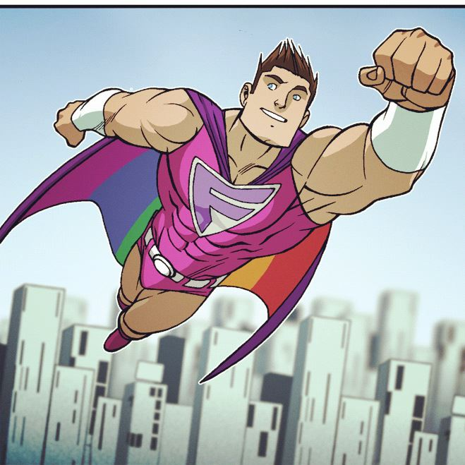 Fabman from The Pride and The Pride Adventures, drawn by Jack Lawrence