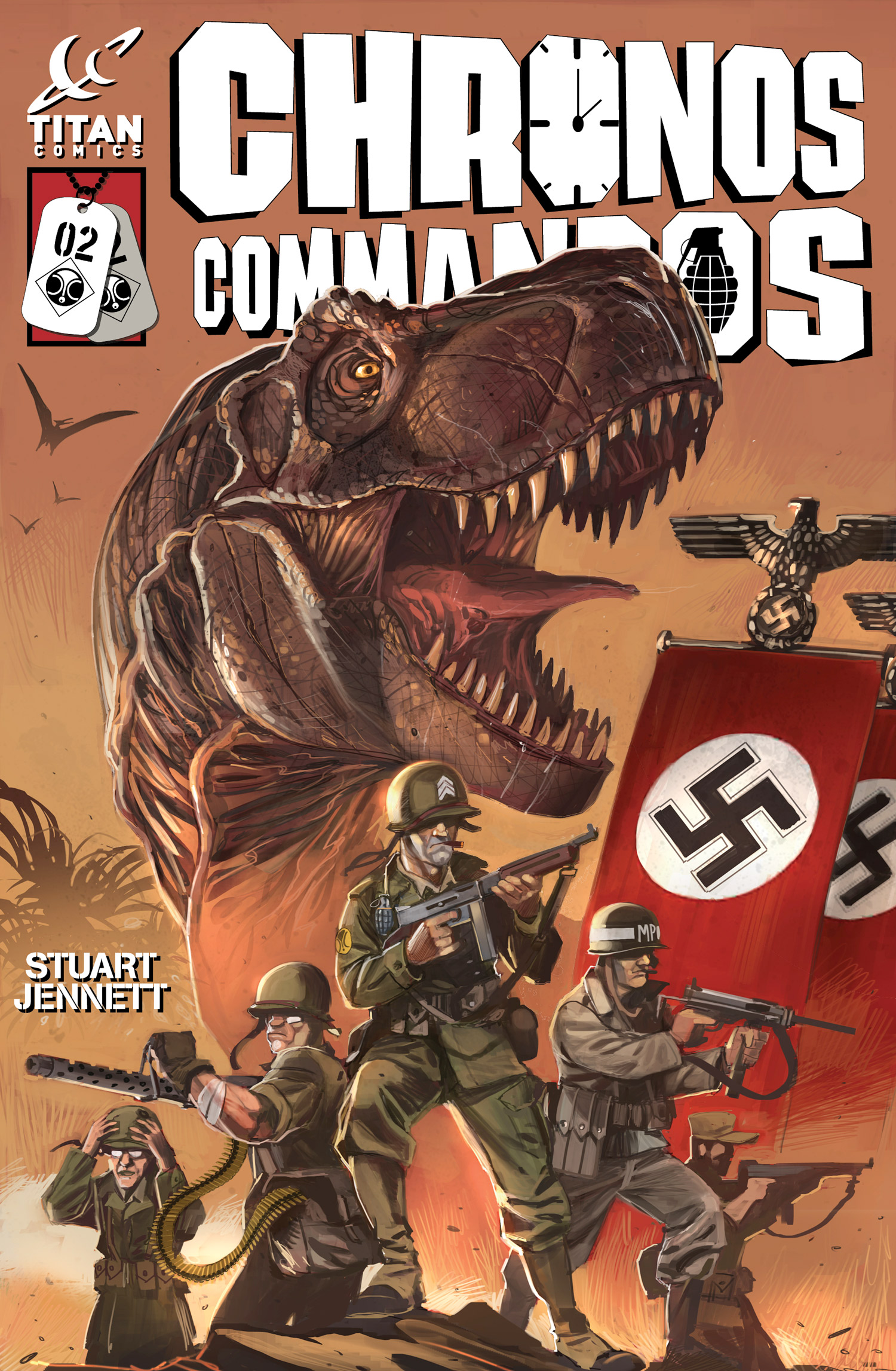 Chronos Commandos #2 Cover