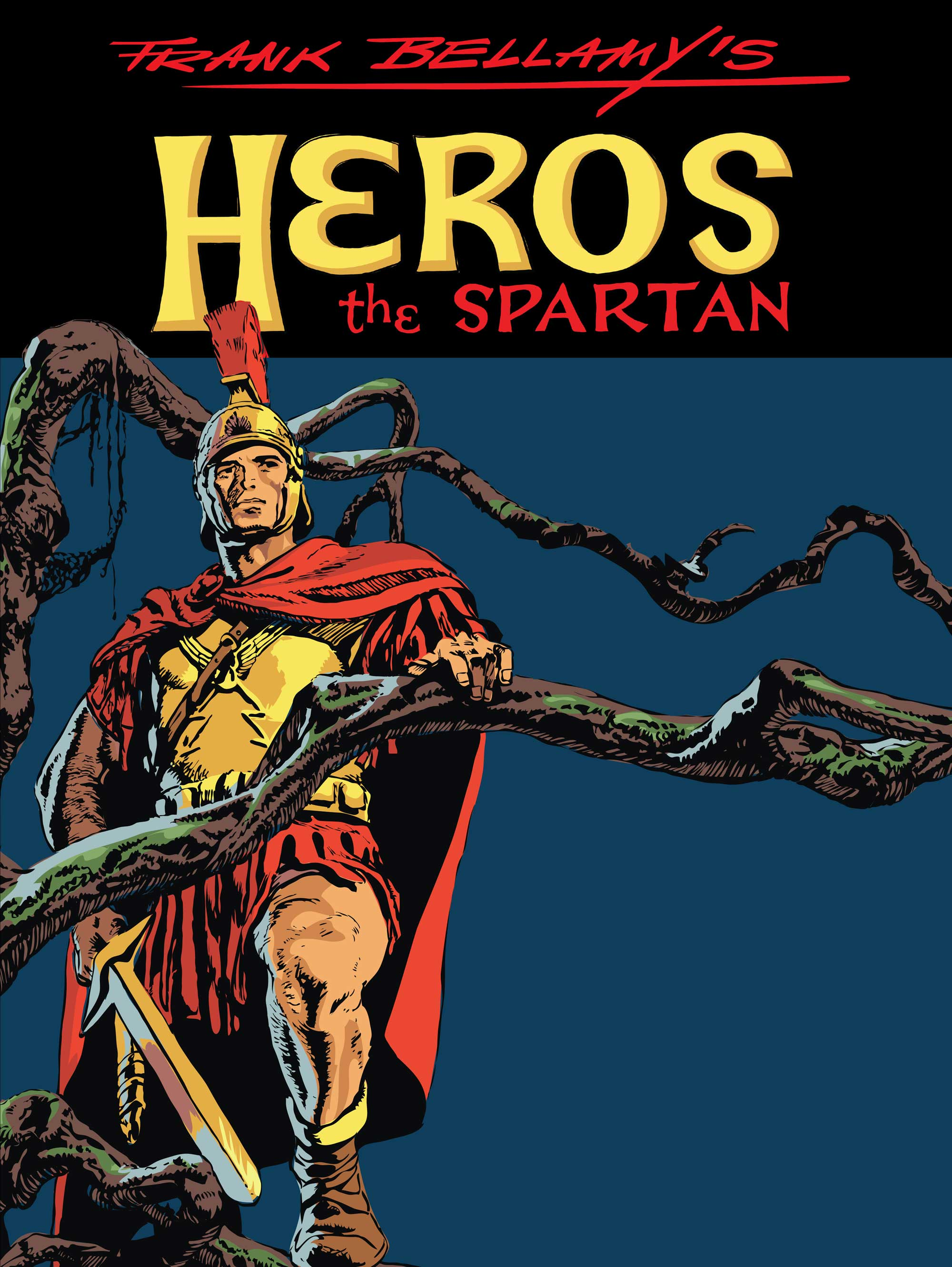 Heros the Spartan regular cover