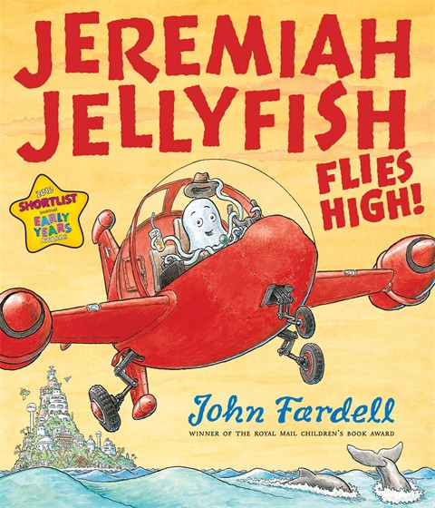 Jeremiah Jellyfish Flies High - Cover