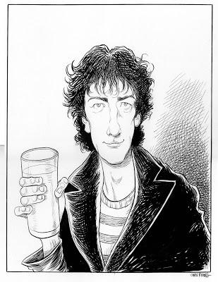 Neil Gaiman by Chris Riddell