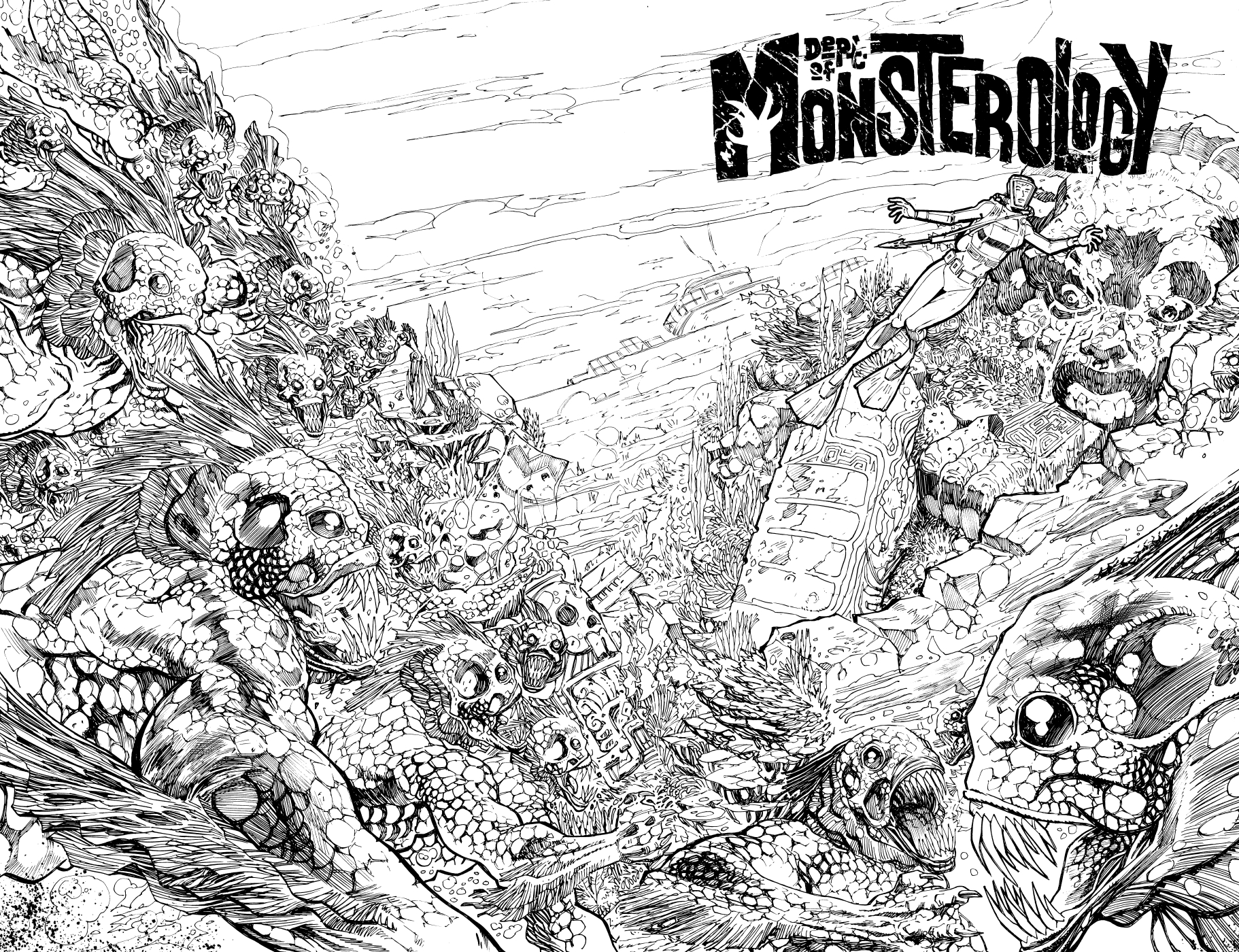 Dept of Monsterology by Gordon Rennie and PJ Holden