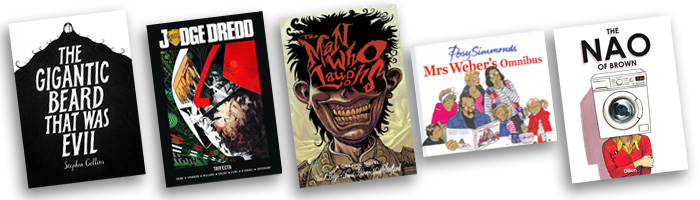 British Comic Awards Best Book Nominees 2013