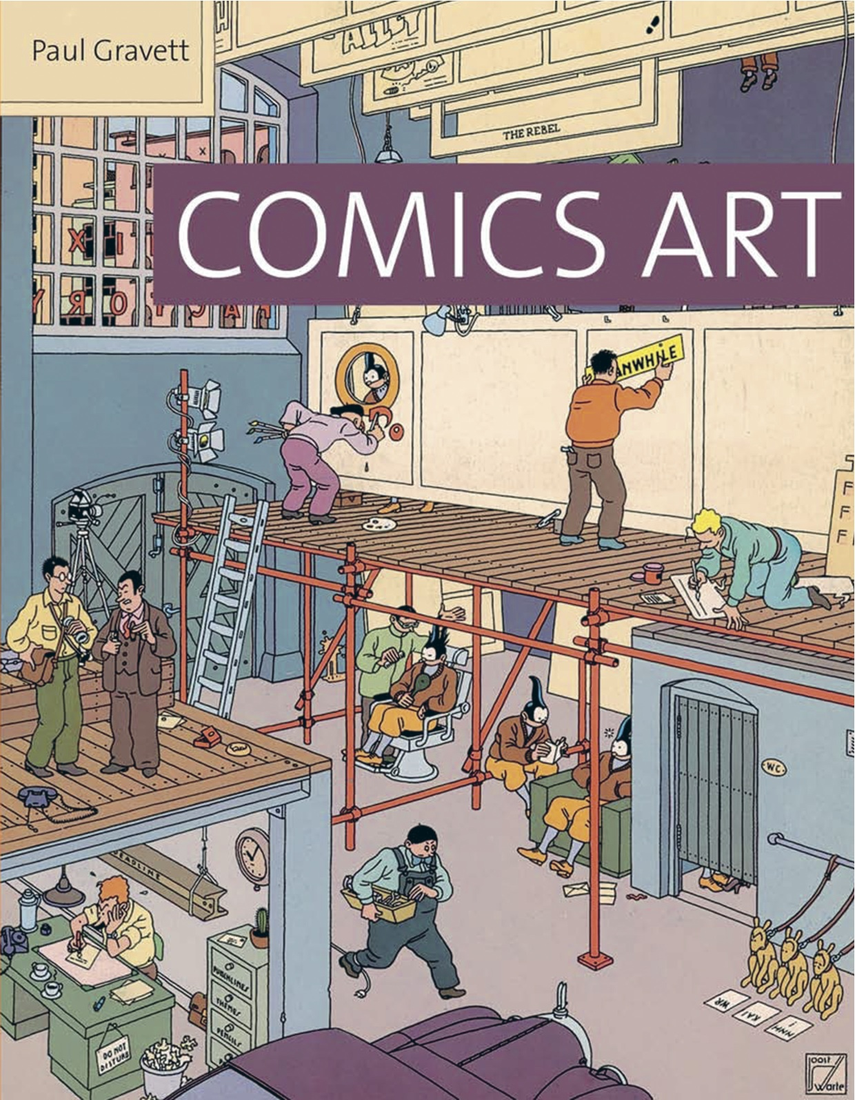 Comics Art by Paul Gravett