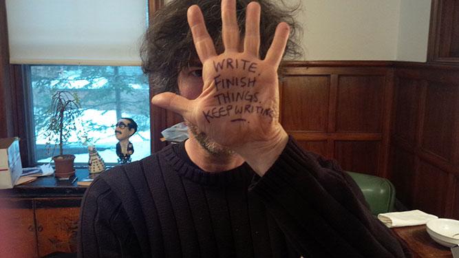 Neil Gaiman's Handy Writing tips