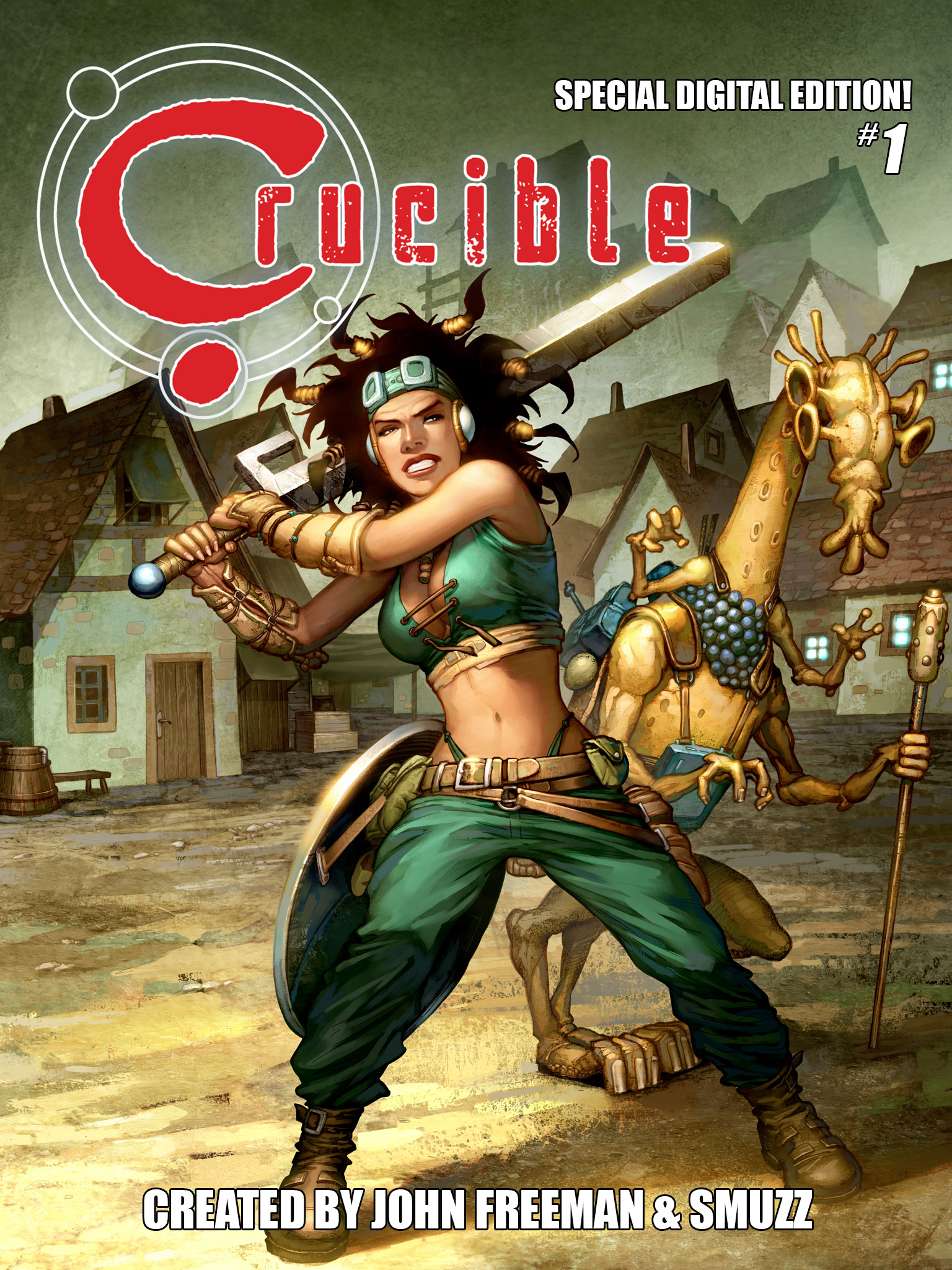 Crucible Comic Issue 1 for iPad