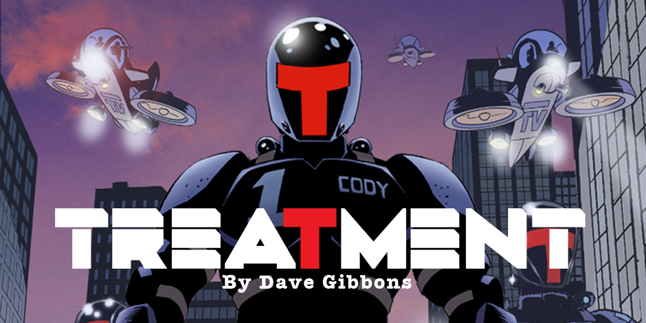 Treatment by Dave Gibbons, published digitally by Madefire