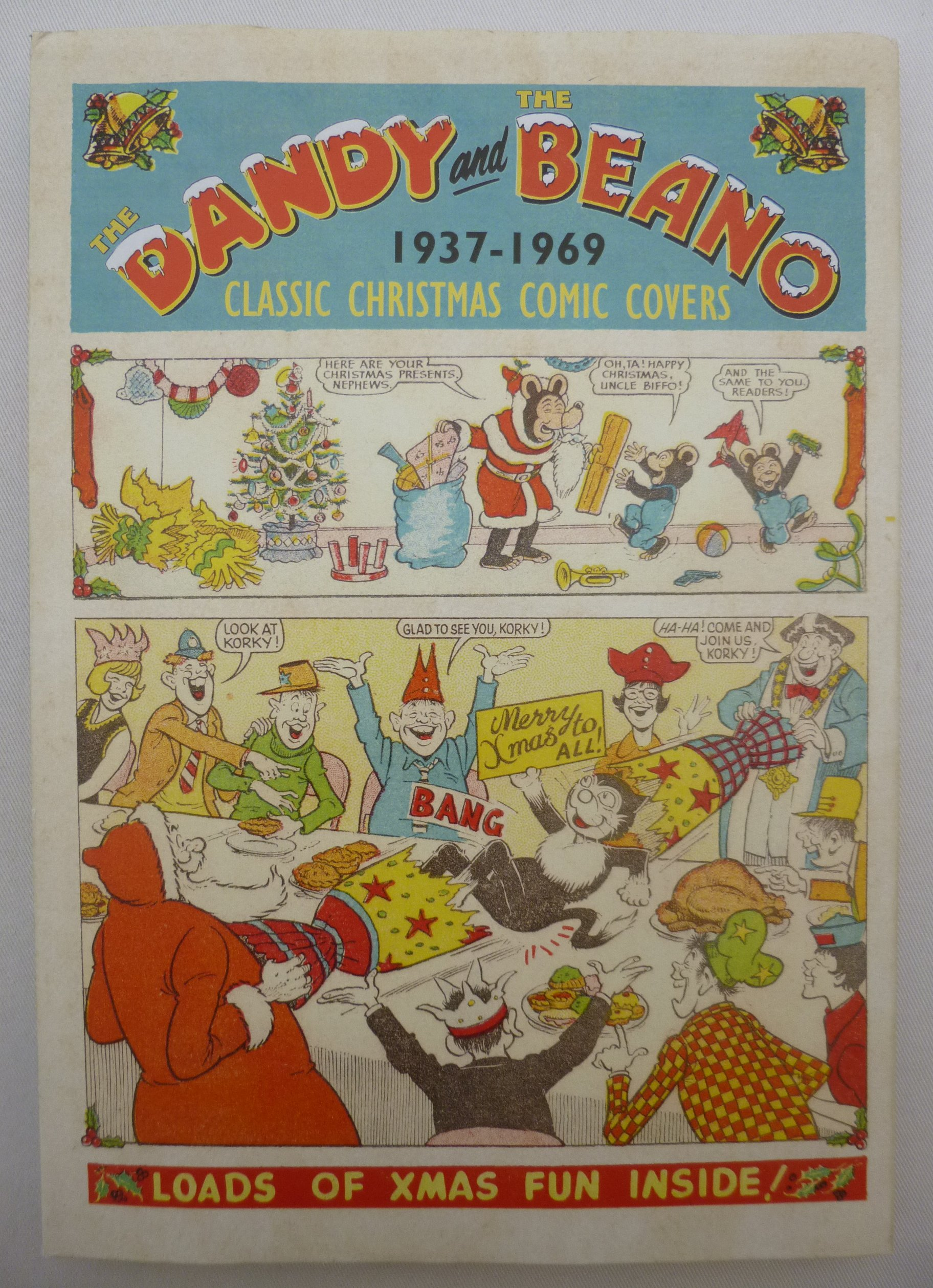 The Dandy and The Beano - Classic Christmas Comic Covers 1937-1969