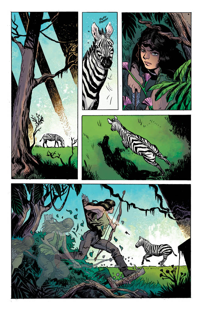 Hinterkind #1 Preview Page 2
