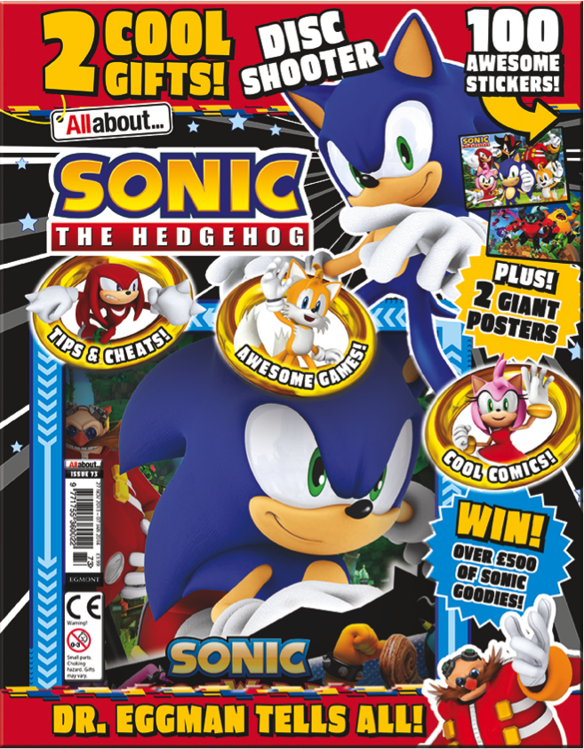 All About Sonic the Hedgehog Issue 1