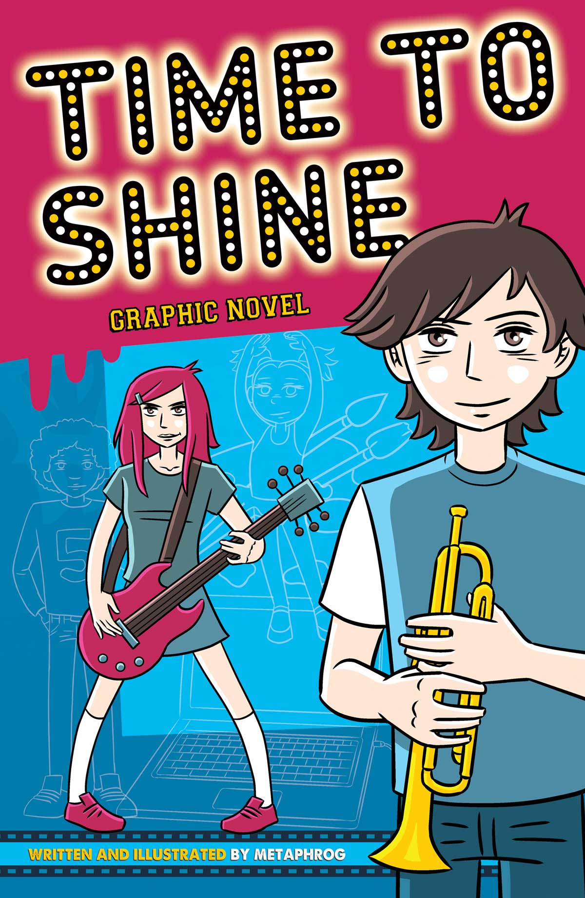 Time To Shine Graphic Novel by Metaphrog