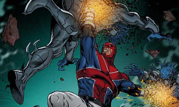 Revolutionary War: Alpha Preview. © Marvel Comics