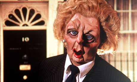 Spitting Image's caricature of the Iron Lady, Margaret Thatcher. Photo: ITV