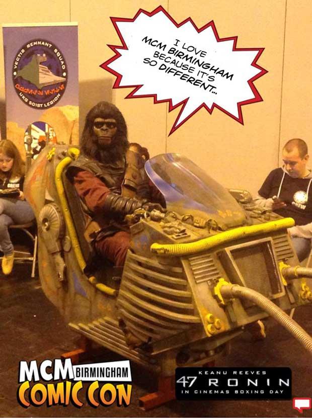 Birmingham Comic Con 2013. Image: MCM Expo