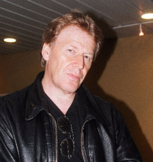 Pat Mills at Raptus, 2003