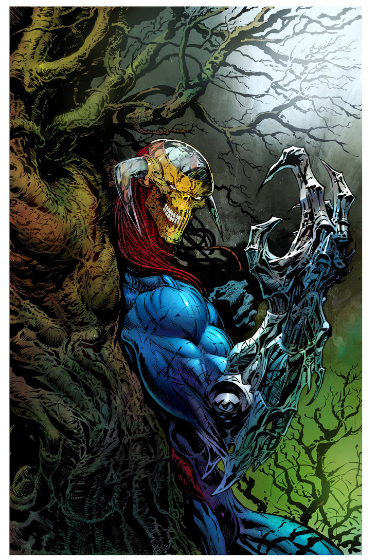 Revolutionary War Issue 4 - Variant Cover by Liam Sharp (Colour by Ryan Brown).