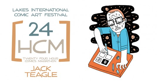 LICAF 2014 24 Hour Marathon - Jack Teagle
