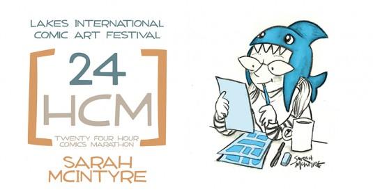 LICAF 2014 24 Hour Marathon - Sarah McIntyre