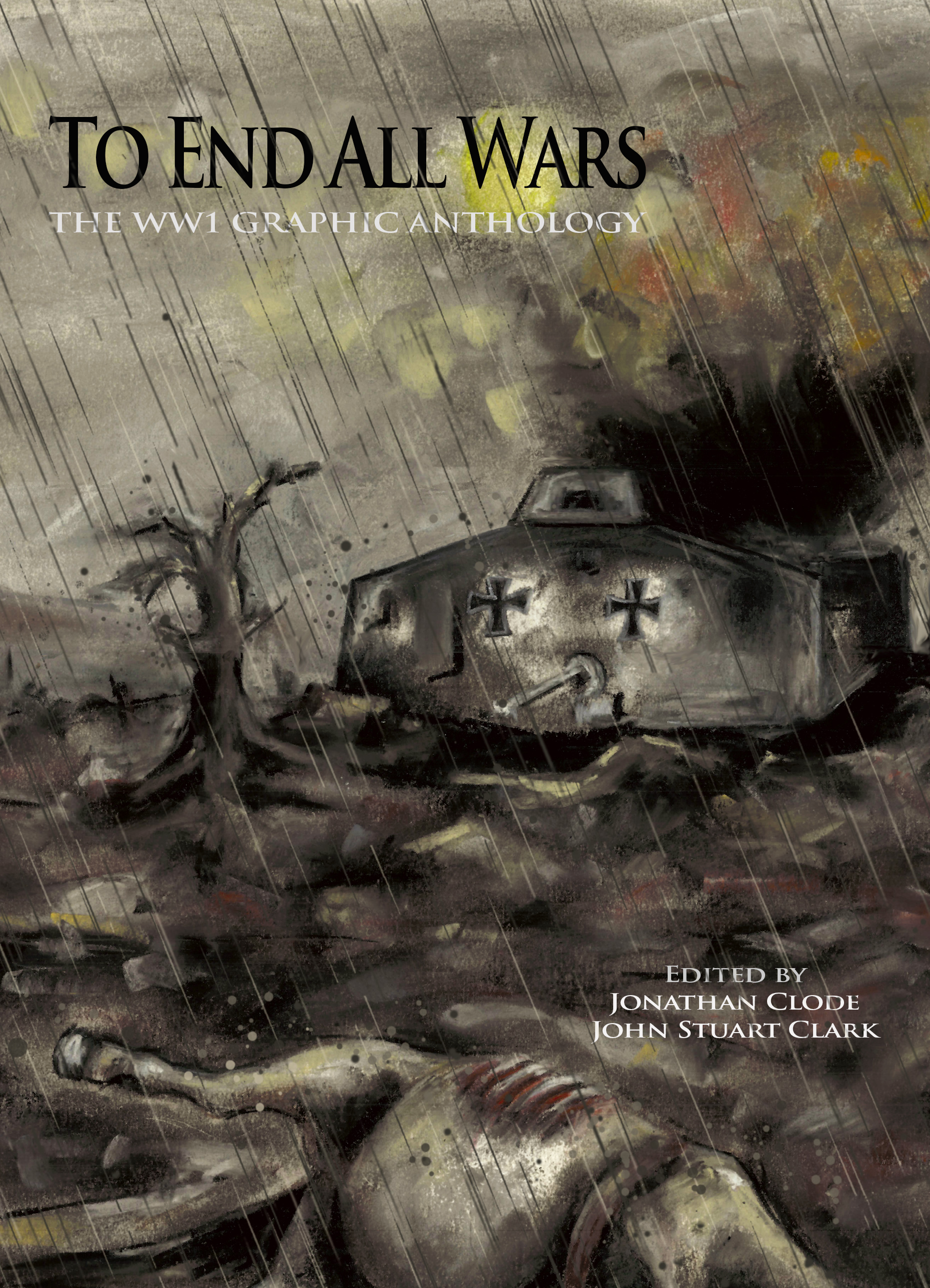 To End All Wars Final Cover by Lizzy Waterhouse