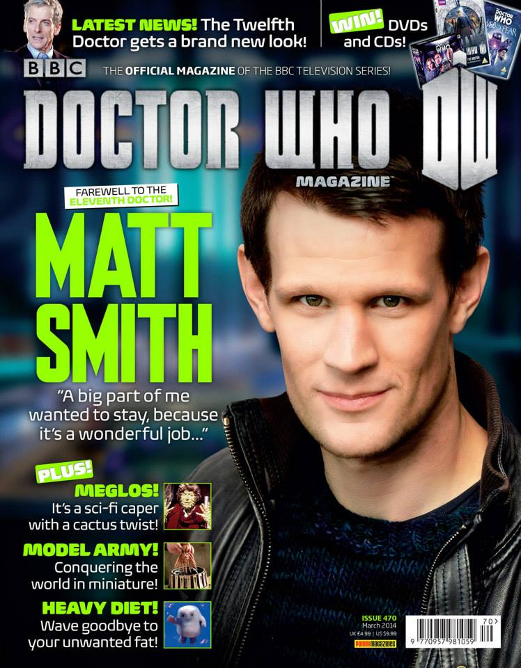 Doctor Who Magazine Issue 470