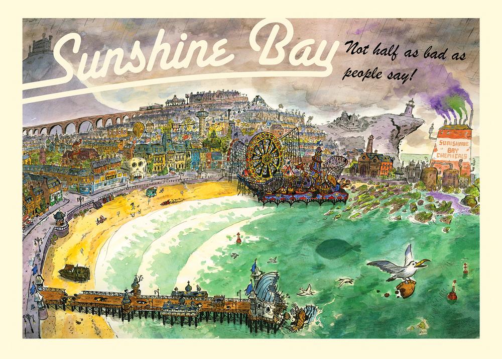 Sunshine Bay by Tom Plant