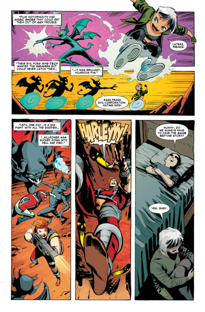 Revolutionary War Issue 6  Sample Page