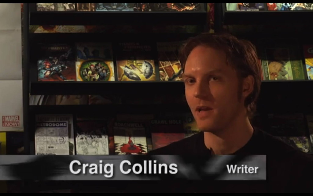 Roachwell creator Craig Collins