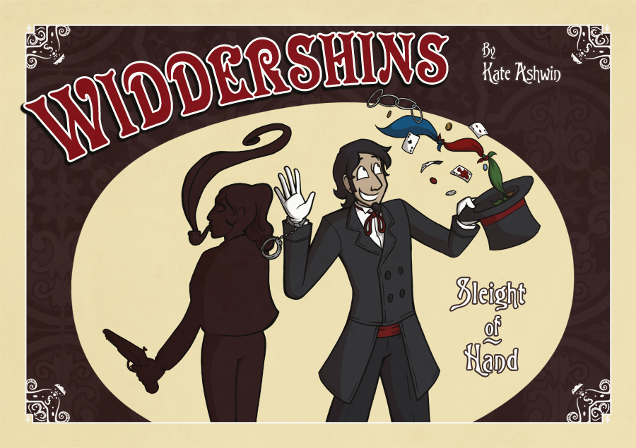 The frontispiece for the first Widdershins story, which Kate Ashwin launched in October 2011. Art © Kate Ashwin.