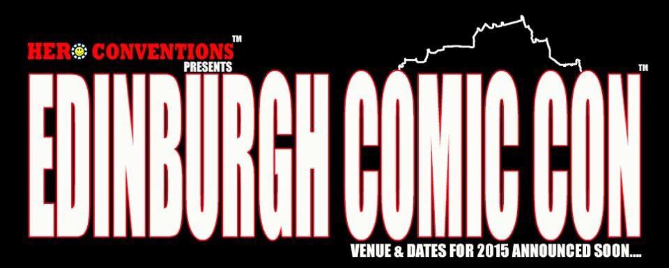 Hero Conventions Edinburgh Comic Con Logo