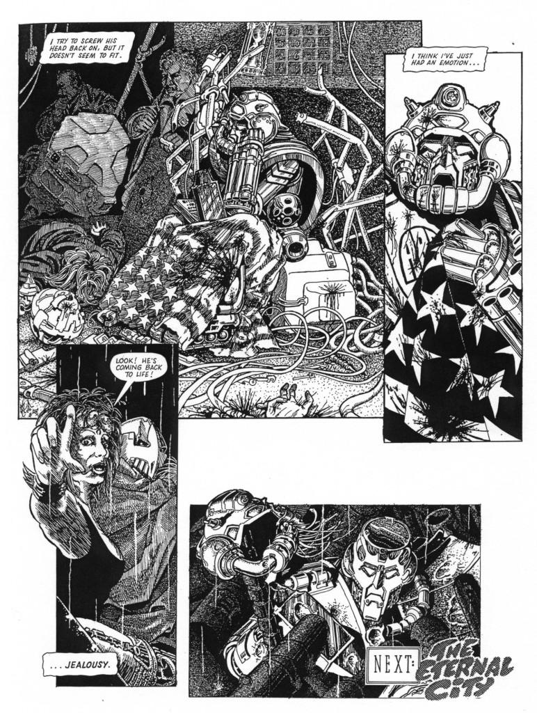 ABC Warriors meet Durer. Art by Smuzz (SMS). © Rebellion