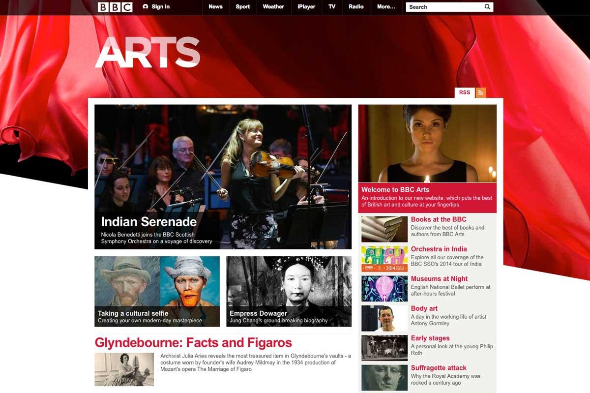 BBC Arts Online -16th May 2014