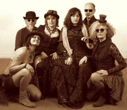 Steampunk band Ghostfire