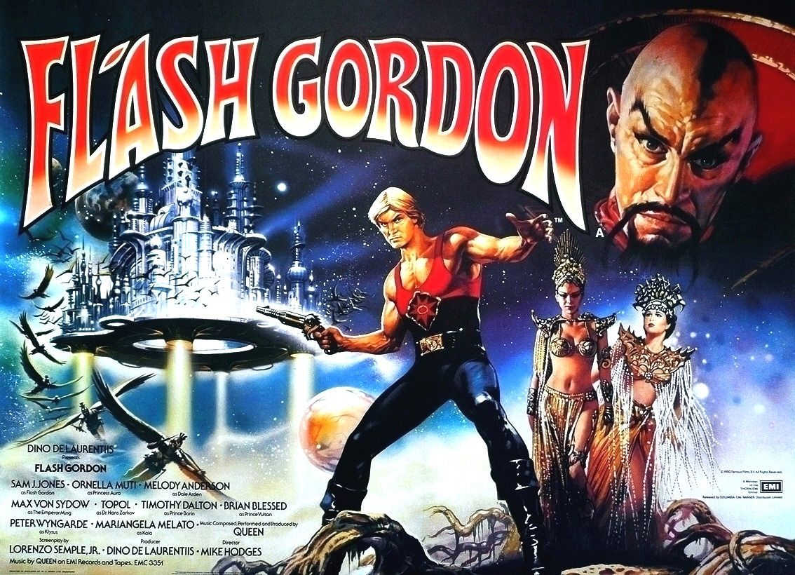 Flash Gordon Film Poster